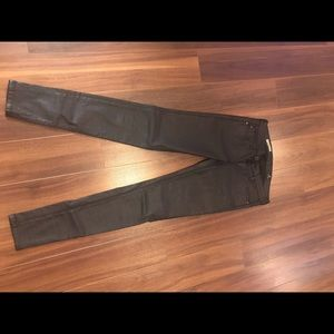 AG jeans black coated super condition